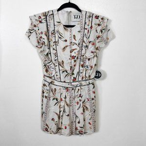 The Jetset Diaries Rare Hearts Romper | Fits S-M
